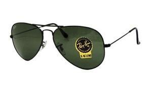 Ray Ban Aviators Black Lens