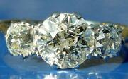 Antique Diamond Trilogy Ring