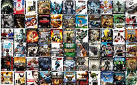 ANY 10 FOR $100 PLAYSTATION GAMES MINT CONDITION