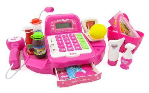 Toy Cash Register With Scanner : Toy cash register scanner ebay