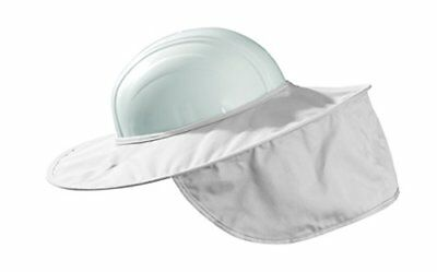 Safety Neck Sun Shade Shield Helmet Protects Face Neck Skin Fits Most Hard Hats