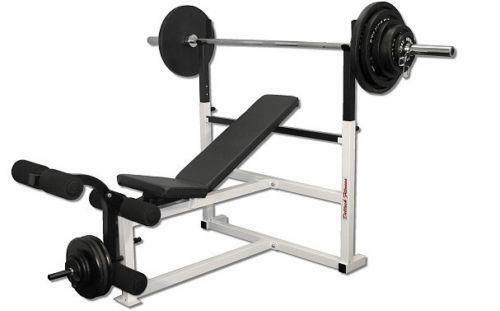 Olympic weight bench ebay Weight set and bench