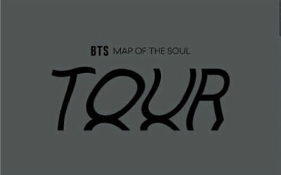 BTS MAP OF THE SOUL TOUR - SEOUL OFFICIAL GOODS FILM PHOTO SEALED