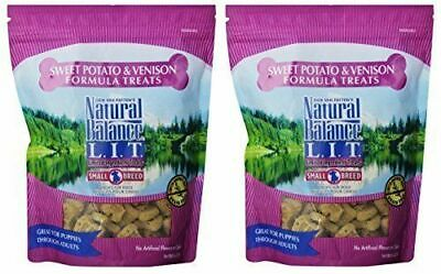 Natural Balance L.I.T. Sweet Potato and Venison Formula Dog Treats, Small Breed (Formula Dog Treats)