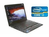 LENOVO INTEL CORE I3 X121E 11.6 INCH 4GB 320GB HDD DVD Windows 10 Laptop