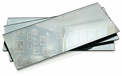 Rectangle Mirror Tray - Mirrors Glass Plates - 5 x 12 inch w