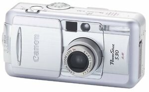 Canon PowerShot S30 3MP Digital Camera with 3x Optical Zoom