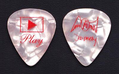 Aerosmith Joe Perry Signature Pink Pearl Guitar Pick - 2001 Just Push Play Tour