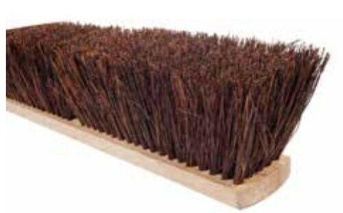 "Magnolia Brush #1430 30"" Prime Stiff Palmyra Garage Push Broom Head"