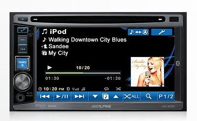 Alpine IVE-W530 Touchscreen Radio w/ Bluetooth, available App Mode