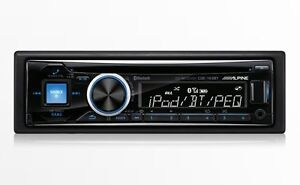 Alpine CD/USB/AUX Receiver With Advanced Bluetooth CDE-143BT