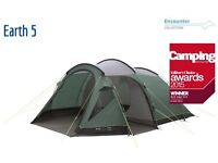 Outwell Earth 5 tent - like new (slept 2 nights) - no tears, stains or other signs of wear