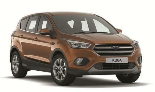 2017 Ford Kuga 2.0 TDCi Titanium 5 door 2WD Diesel Estate