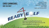 Ready4GOLF. Lowest prices on high end golf clubs!