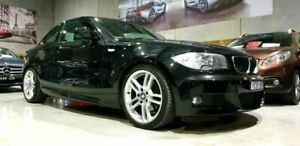 2010 BMW 125i E82 MY10 Black 6 Speed Automatic Coupe Laverton North Wyndham Area Preview