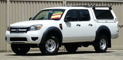 2009 Ford Ranger PK XL HI-Rider (4x2) White 5 Speed Manual Dual Cab Pick-up Lismore Lismore Area Preview