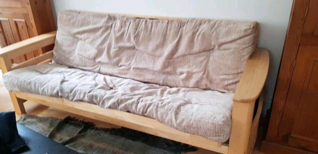 Sofabed Three Seater Sofa Can Be Used Like A Futons Bed