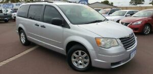 2009 Chrysler Grand Voyager RT 5th Gen MY08 LX Silver 6 Speed Automatic Wagon East Bunbury Bunbury Area Preview