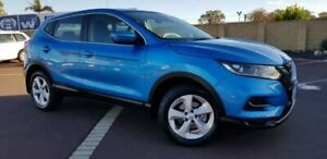 2018 Nissan Qashqai J11 Series 2 ST X-tronic Blue 1 Speed Constant Variable Wagon East Bunbury Bunbury Area Preview