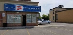 Fully Attended Coin Laundromat for Sale in Toronto
