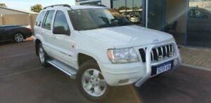 2003 Jeep Grand Cherokee WG MY2003 Limited White 5 Speed Automatic Wagon East Bunbury Bunbury Area Preview