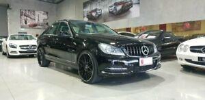 2012 Mercedes-Benz C-Class W204 MY12 C250 BlueEFFICIENCY 7G-Tronic + Avantgarde 7 Speed