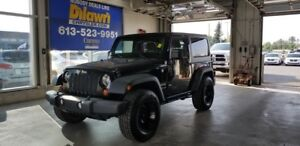 2012 Jeep Wrangler Sport 4X4 with Dual Tops