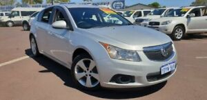 2012 Holden Cruze JH Series II MY12 Equipe Silver 6 Speed Sports Automatic Hatchback East Bunbury Bunbury Area Preview