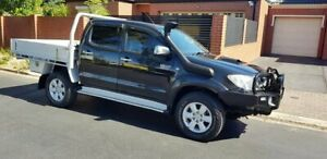 2010 Toyota Hilux KUN26R MY11 Upgrade SR5 (4x4) Black 4 Speed Automatic Dual Cab Pick-up Prospect Prospect Area Preview