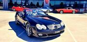 2006 Mercedes-Benz SL350 R230 MY05 Black 5 Speed Sports Automatic Roadster Laverton North Wyndham Area Preview