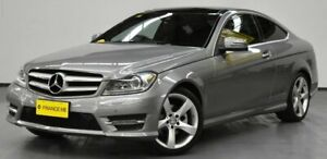 2014 Mercedes-Benz C250 C204 MY14 7G-Tronic + Palladium Silver 7 Speed Sports Automatic Coupe