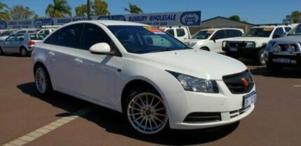 2010 Holden Cruze JG CD White 6 Speed Sports Automatic Sedan East Bunbury Bunbury Area Preview
