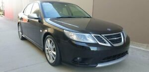 2008 Saab 9-3 440 MY2008 Linear BioPower Black 5 Speed Sports Automatic Sedan Cheltenham Kingston Area Preview