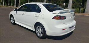 2014 Mitsubishi Lancer CJ MY14 ES White 6 Speed Sedan