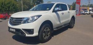 2018 Mazda BT-50 UR0YG1 GT White 6 Speed Sports Automatic Utility Goulburn Goulburn City Preview