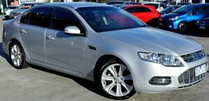 2012 Ford Falcon FG MkII G6E Silver 6 Speed Sports Automatic Sedan Ferntree Gully Knox Area Preview