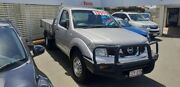 2010 Nissan Navara D40 RX Silver 6 Speed Manual Cab Chassis Mount Gravatt Brisbane South East Preview