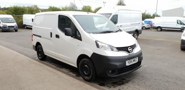 4e1be15229 Nissan Nv200 1.5 Dci 110 Acenta Van EURO 5 DIESEL MANUAL WHITE (2015 ...