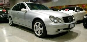 2002 Mercedes-Benz C-Class W203 C320 Avantgarde 5 Speed Sports Automatic Sedan