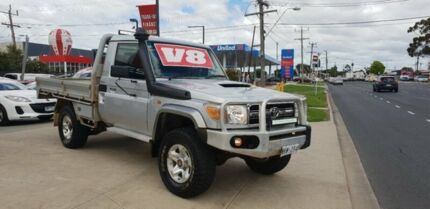 2008 Toyota Landcruiser VDJ79R GXL (4x4) 5 Speed Manual Cab Chassis Deer Park Brimbank Area Preview