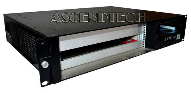 ADVANTECH COMPACTPCI 4-SLOT BACKPLANE CHASSIS ENCLOSURE BASE UNIT MIC-3056A/4-2R