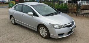 2009 Honda Civic MY08 VTi Silver 5 Speed Automatic Sedan North Geelong Geelong City Preview