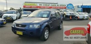 2008 Ford Territory SY TX Blue 4 Speed Sports Automatic Wagon Campbelltown Campbelltown Area Preview