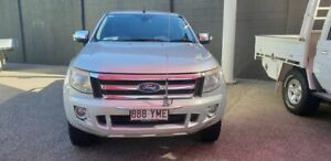2012 Ford Ranger PX TURBO XLT Silver Auto Seq Sportshift Spacecab Mackay Mackay City Preview
