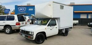 1997 Nissan Navara D21 DX 4x2 White 4 Speed Automatic Cab Chassis Greenslopes Brisbane South West Preview