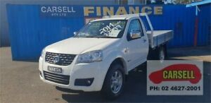 2014 Great Wall V240 K2 MY14 4x2 White 5 Speed Manual Cab Chassis Campbelltown Campbelltown Area Preview