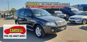 2007 Ford Territory SY Ghia AWD Grey 6 Speed Sports Automatic Wagon Campbelltown Campbelltown Area Preview