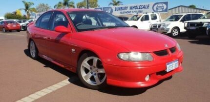 2001 Holden Commodore VX SS Red 4 Speed Automatic Sedan East Bunbury Bunbury Area Preview