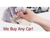 WE BUY CARS AND VANS FOR CASH UP TO £2000