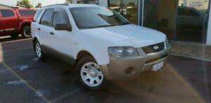 2009 Ford Territory SY MkII TX White 4 Speed Sports Automatic Wagon East Bunbury Bunbury Area Preview